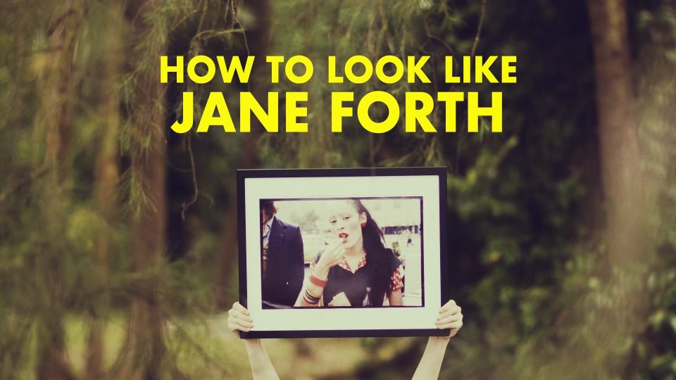 L'officiel x DVF – How To Look Like Jane Forth